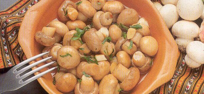 Unas recetas con champis y setas